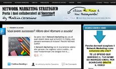 network marketing sito: NetworkMarketingStrategico.it