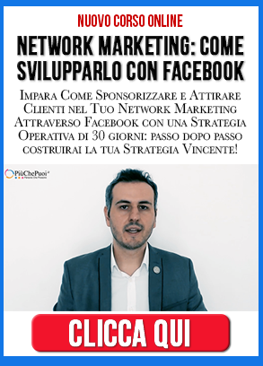 corso network marketing