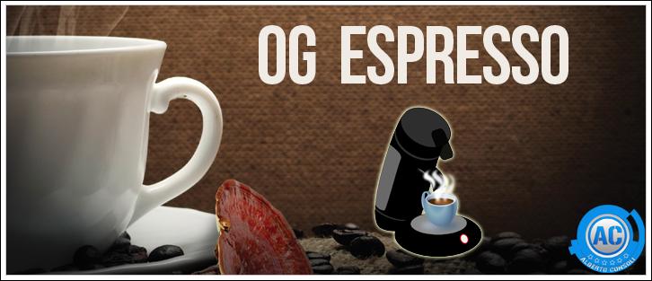 og espresso